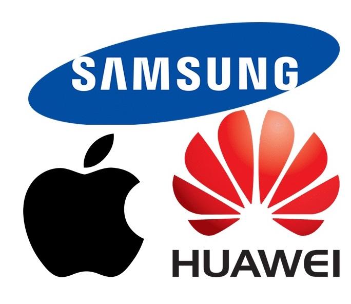 Apple-Huawei-Samsung