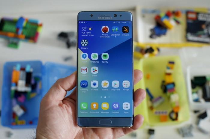 Galaxy Note 7 será bautizado como Note FE