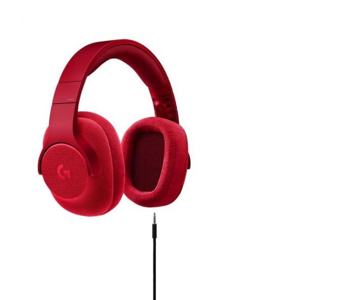 Logitech-G433-rojo