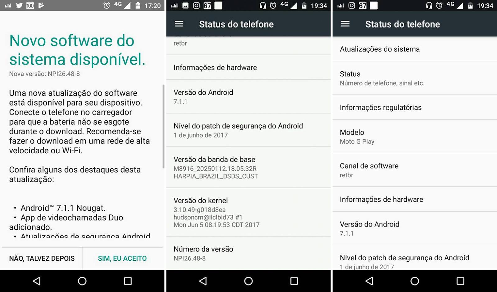 Moto-G4-Play actualizacion nougat