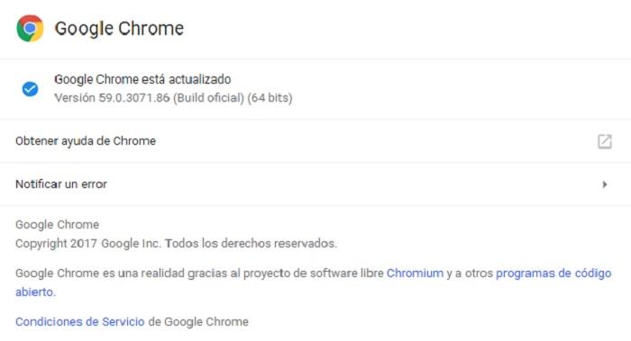google chrome 59 android