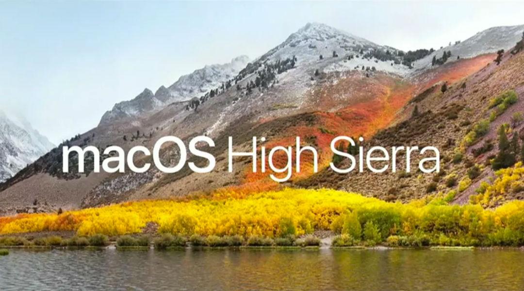 Ya se viene macOS High Sierra como la siguiente actualización para portátiles