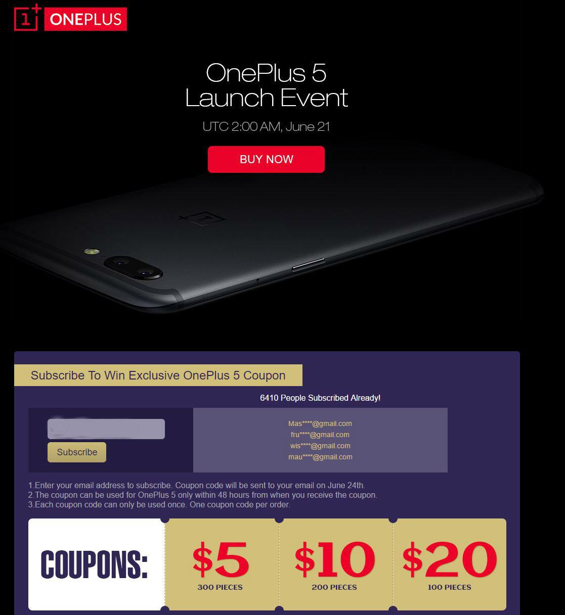 oneplus 5 ofertas geekbuying