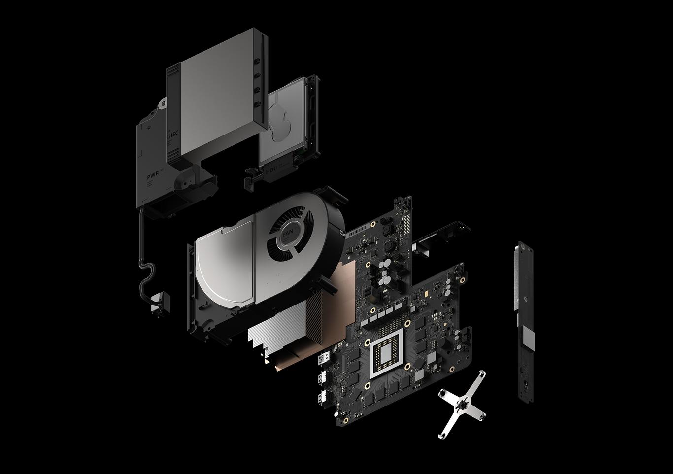 xbox one X especificaciones tecnicas