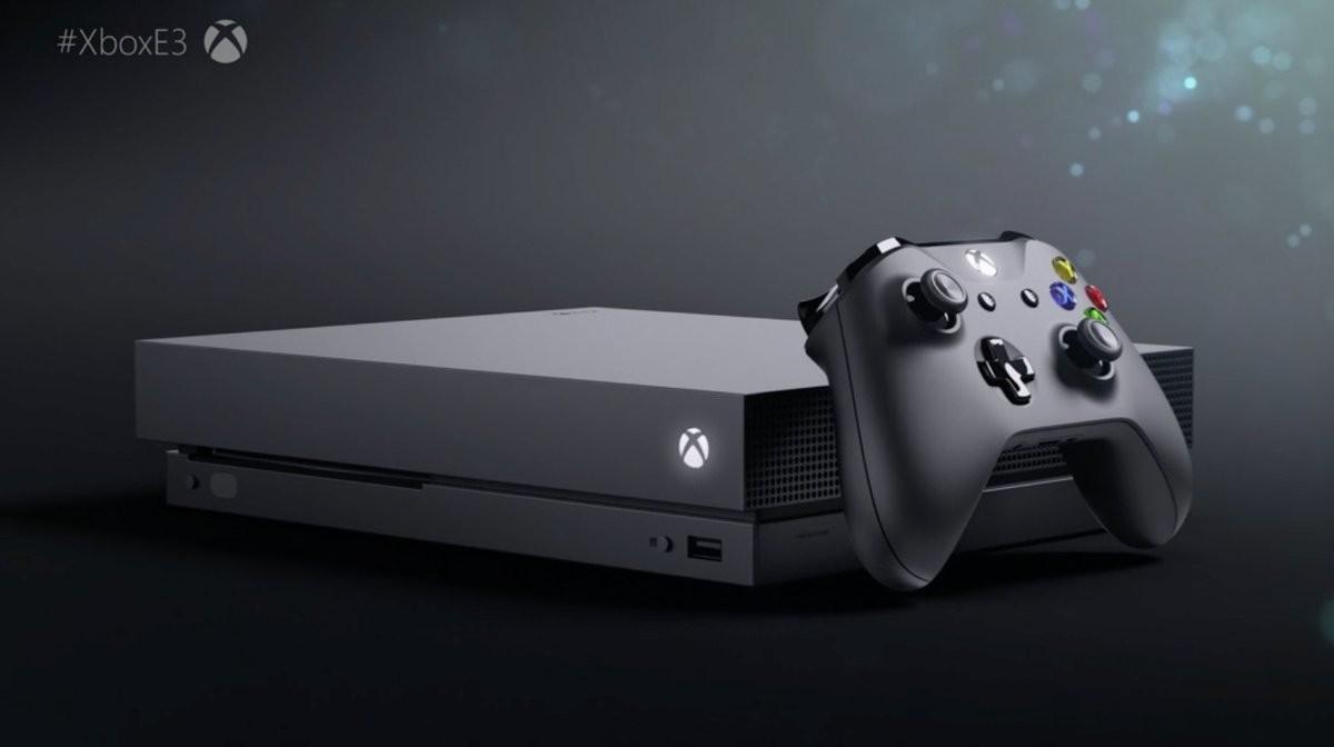 xbox one X lanzamiento oficial e3