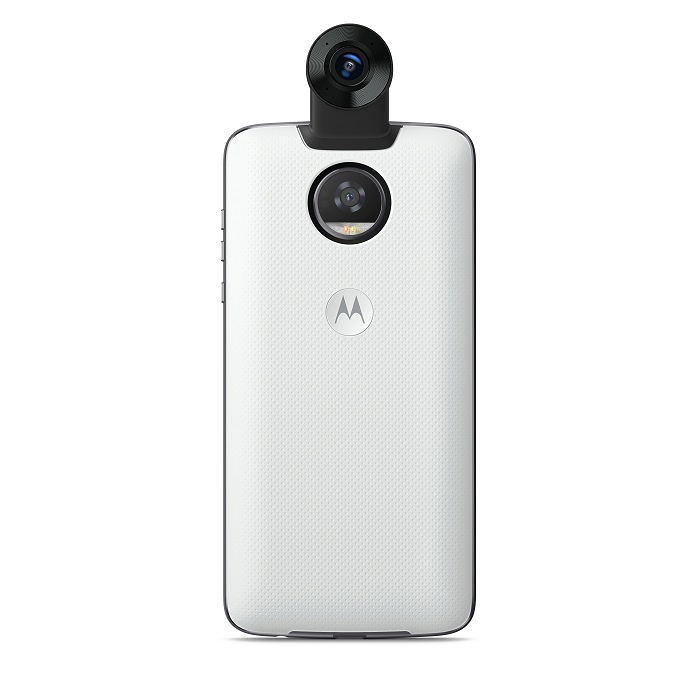 360 Camera Moto Mod frontal