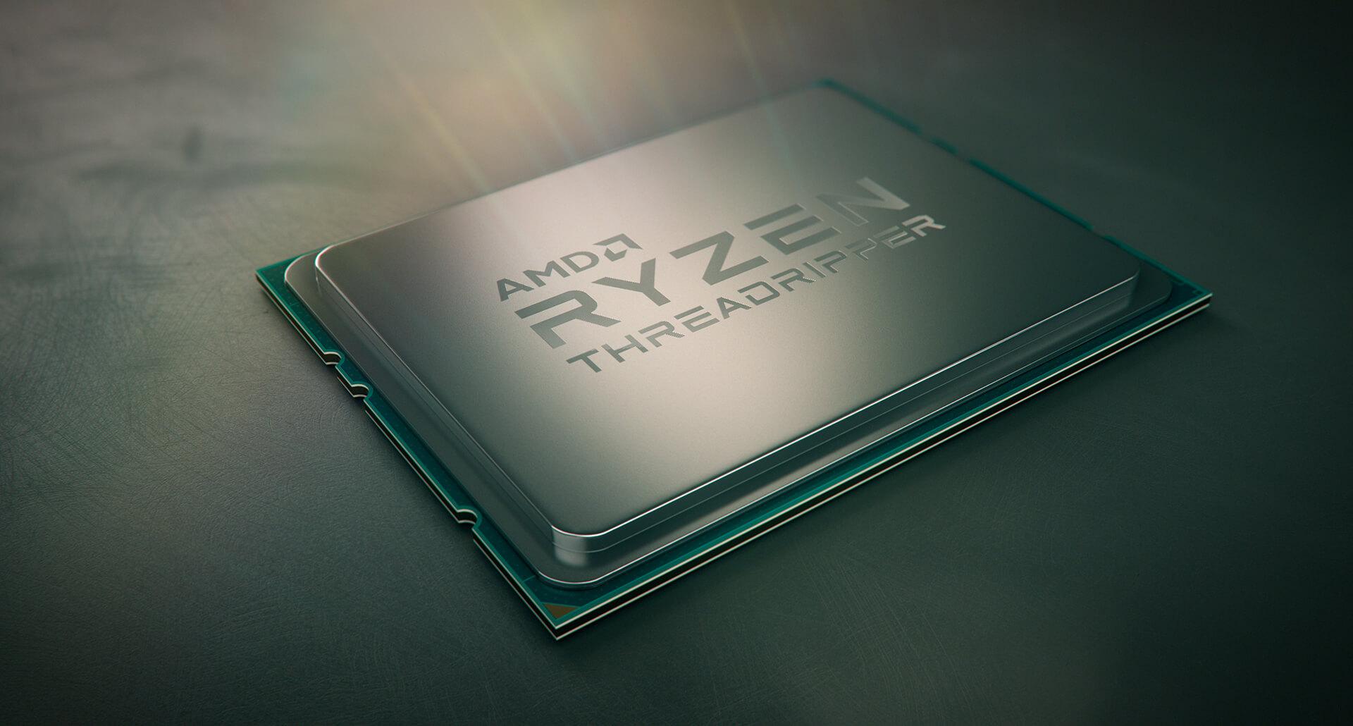 AMD Ryzen Threadripper es oficial