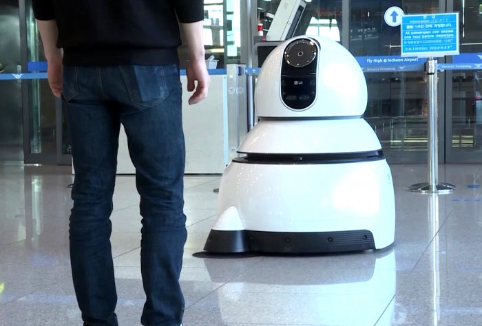 Airport Cleaning Robot 02