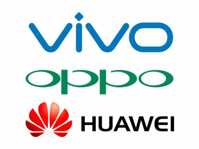 Huawei-Vivo-Oppo-smartphone chinos