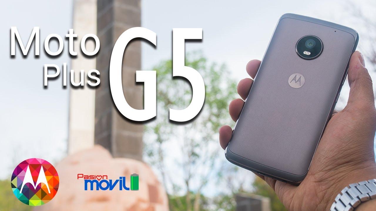 Moto G5 Plus es un interesante móvil de gama media