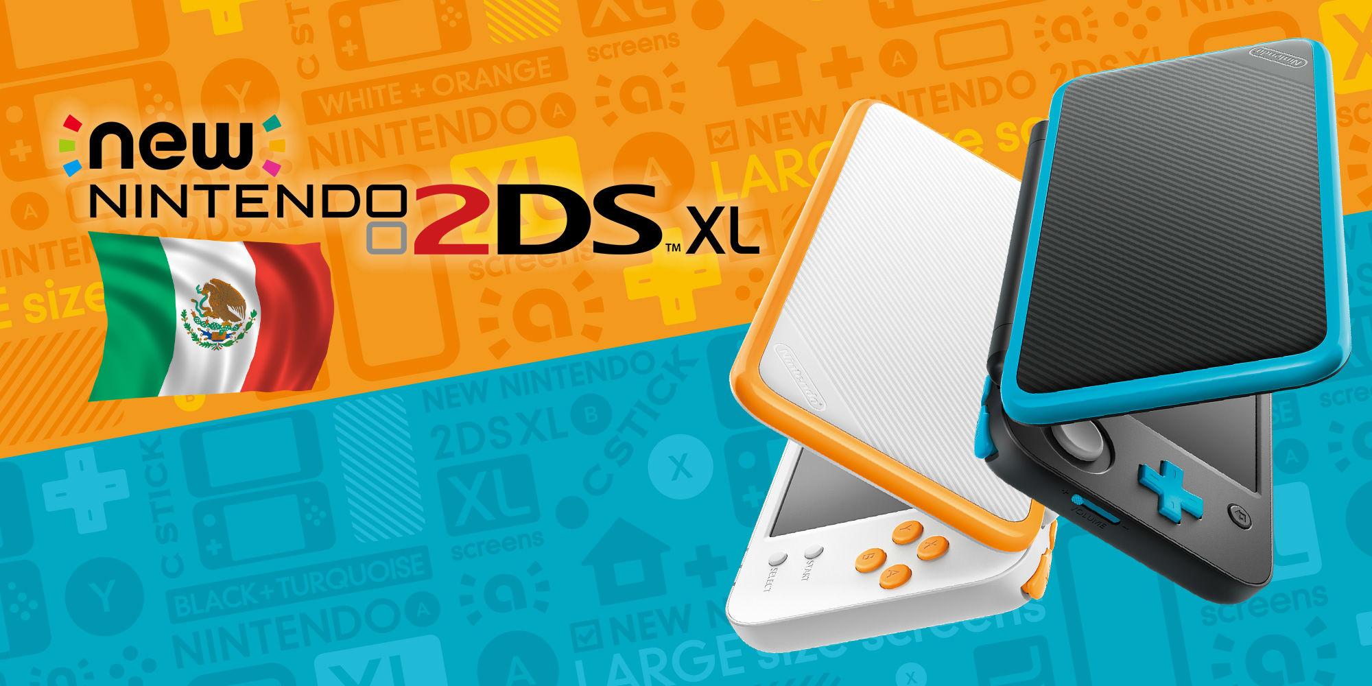 Nintendo 2DS XL ya está en México