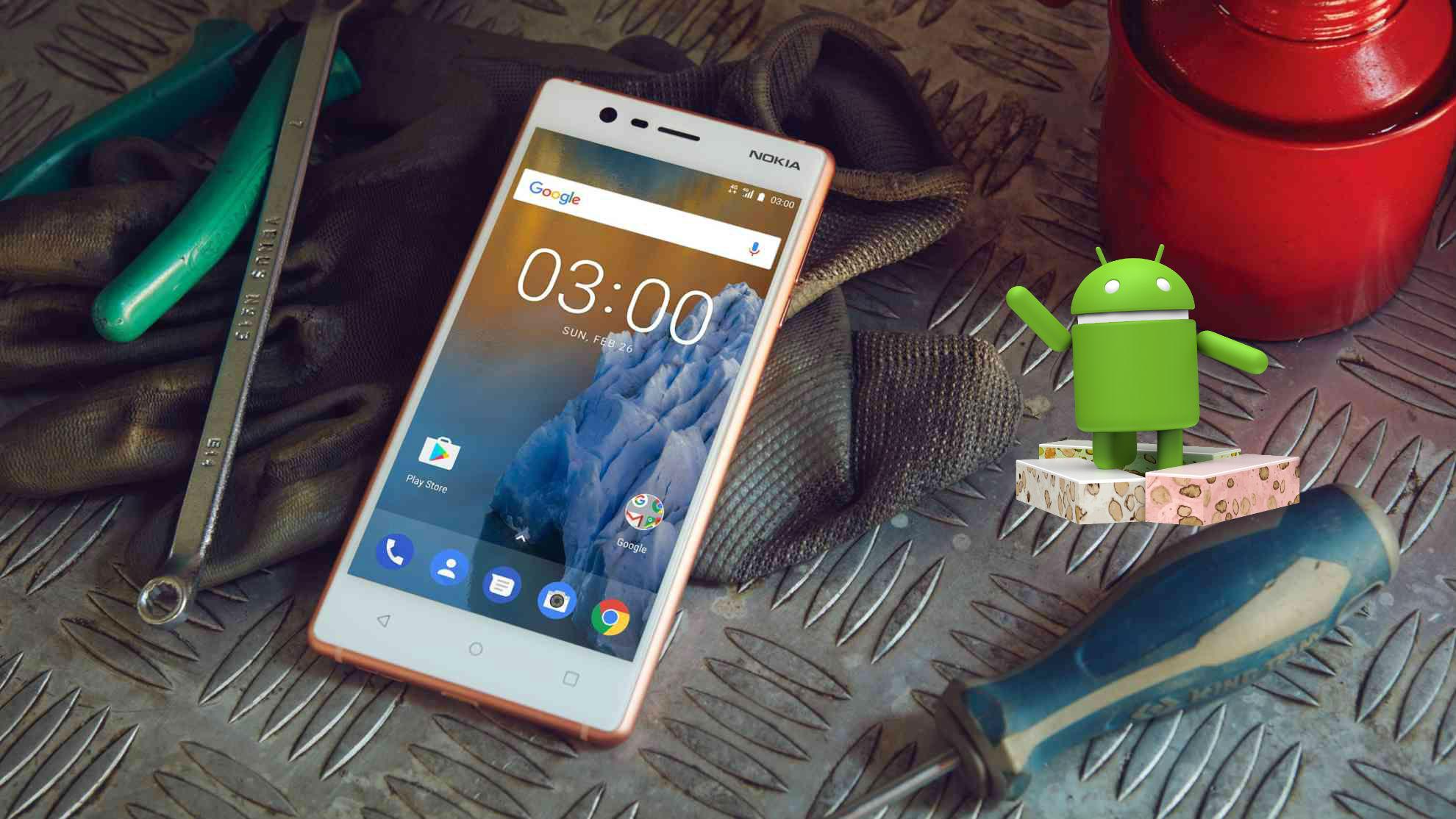 Nokia 3 ya está con la última versión de Nougat