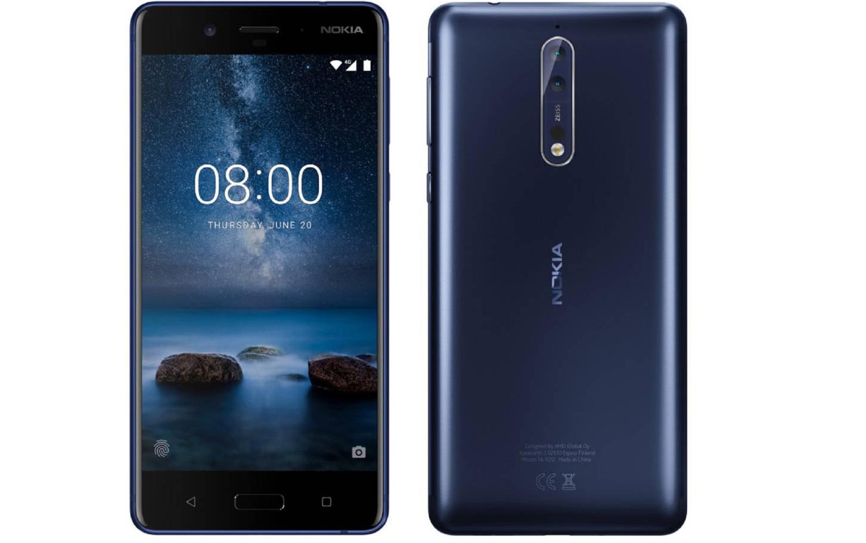 Así lucirá el Nokia 8