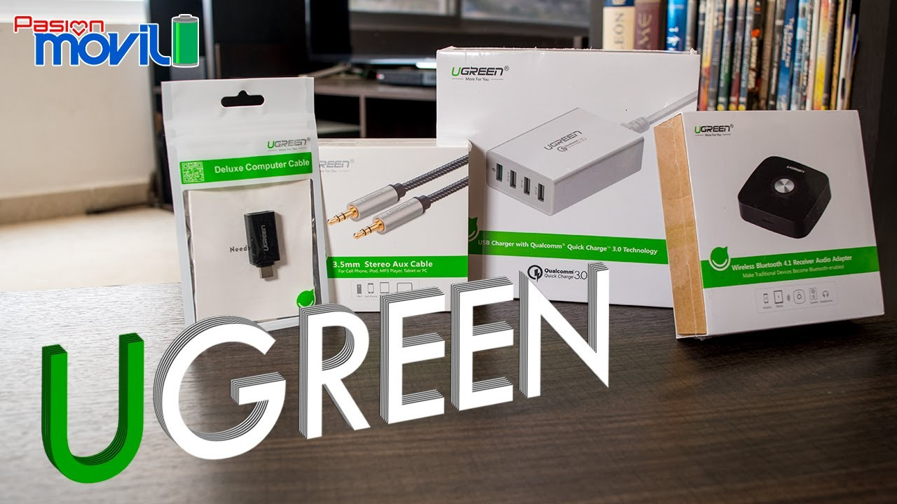 accesorios UGREEN Unboxing pasionmovil
