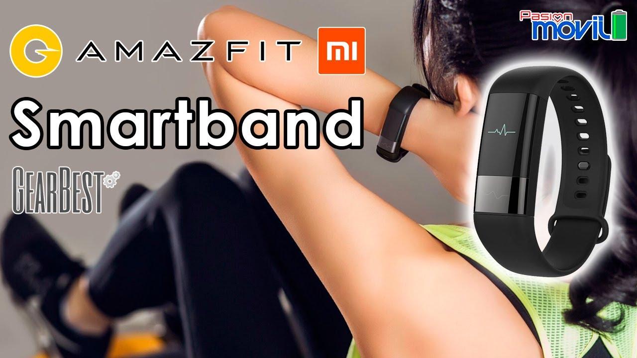 analisis español review Xiaomi Amazfit Smartband