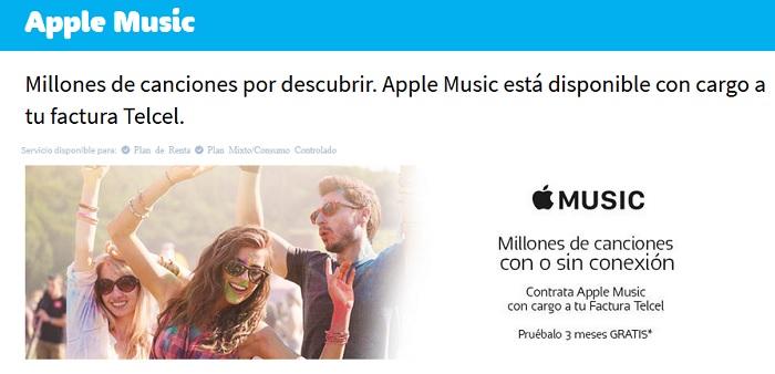 apple music telcel