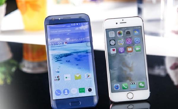 doogee bl5000 vs iphone 7