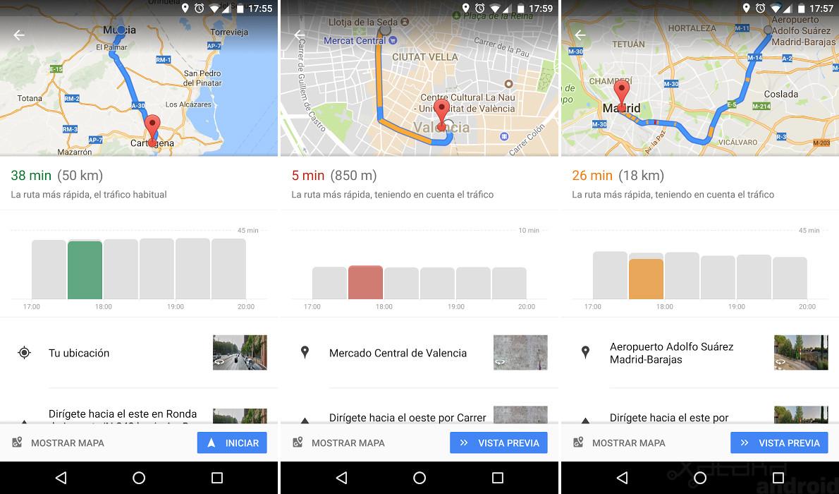 google maps nueva funcion