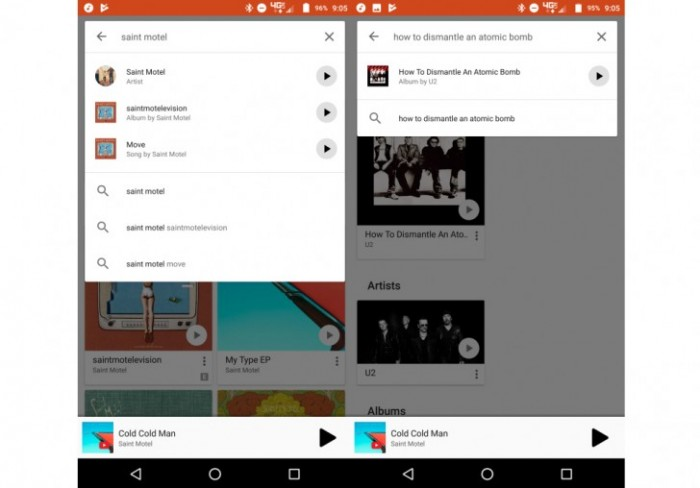 google play music app buscador reproductor