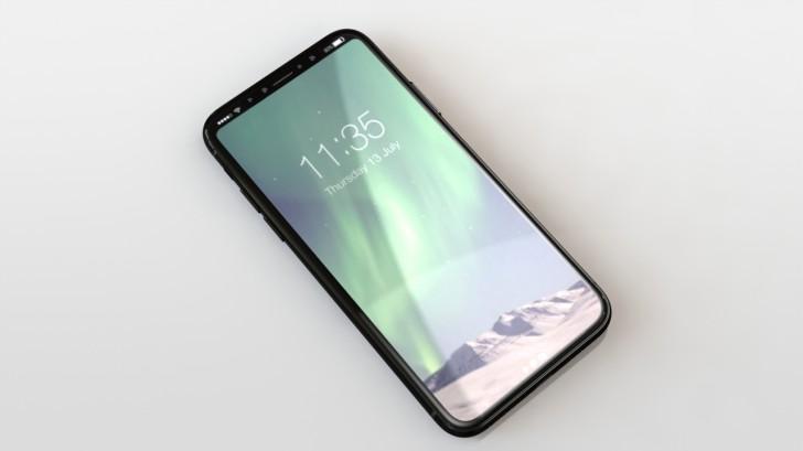Así podría lucir el iPhone 8