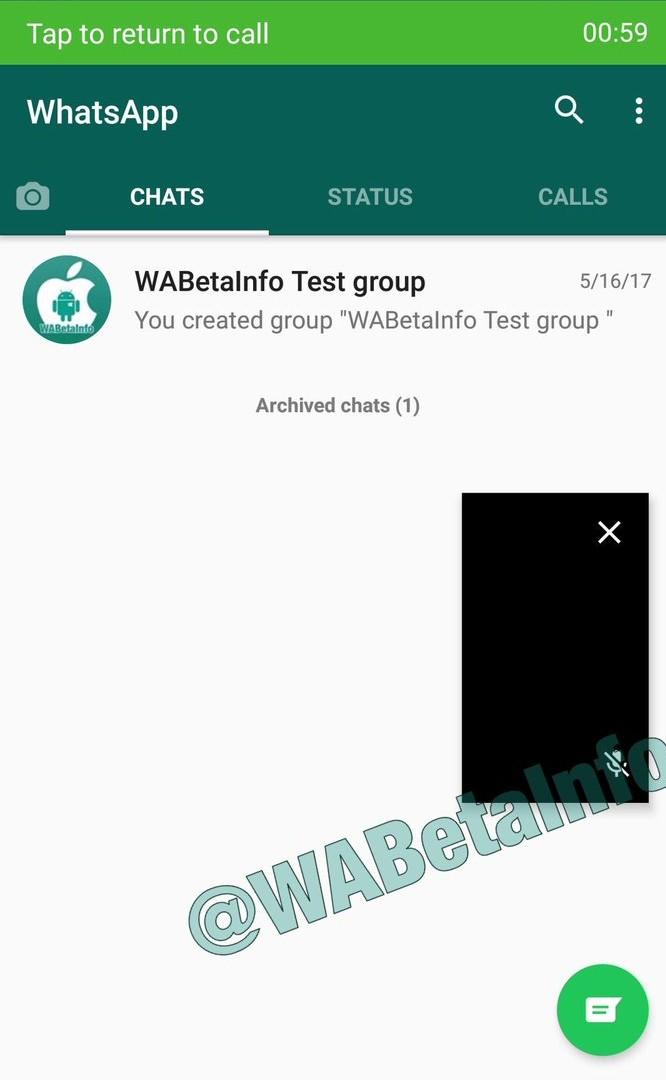 whatsapp pip videollamadas