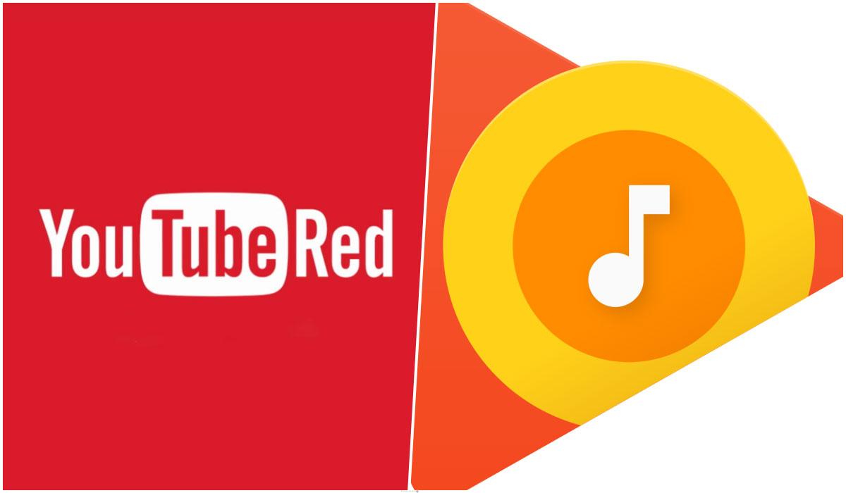 YouTube RED y Play Music se volverán un único servicio
