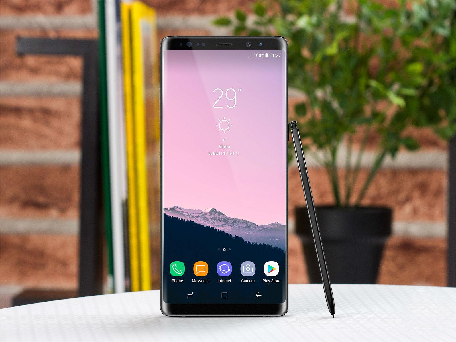 Galaxy Note 8 será presentado la próxima semana