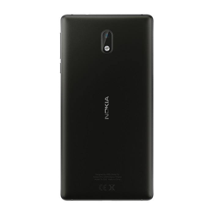 Nokia 3 Matte_Black_Back