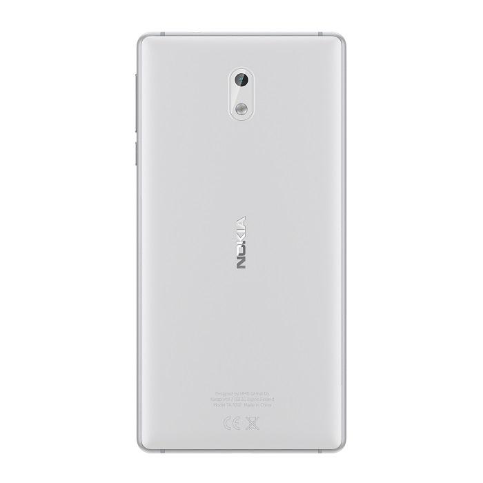 Nokia 3Silver_White_Back