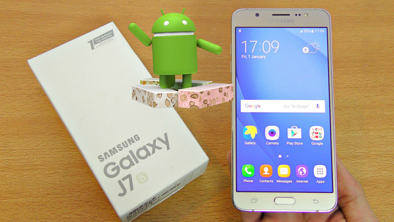Samsung libera nueva actualización para el Galaxy J7 (2016)
