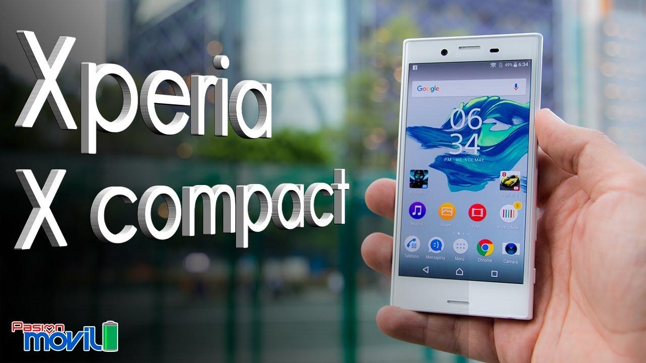 Xperia X Compact es el mejor smartphone compacto, aunque su precio es elevado