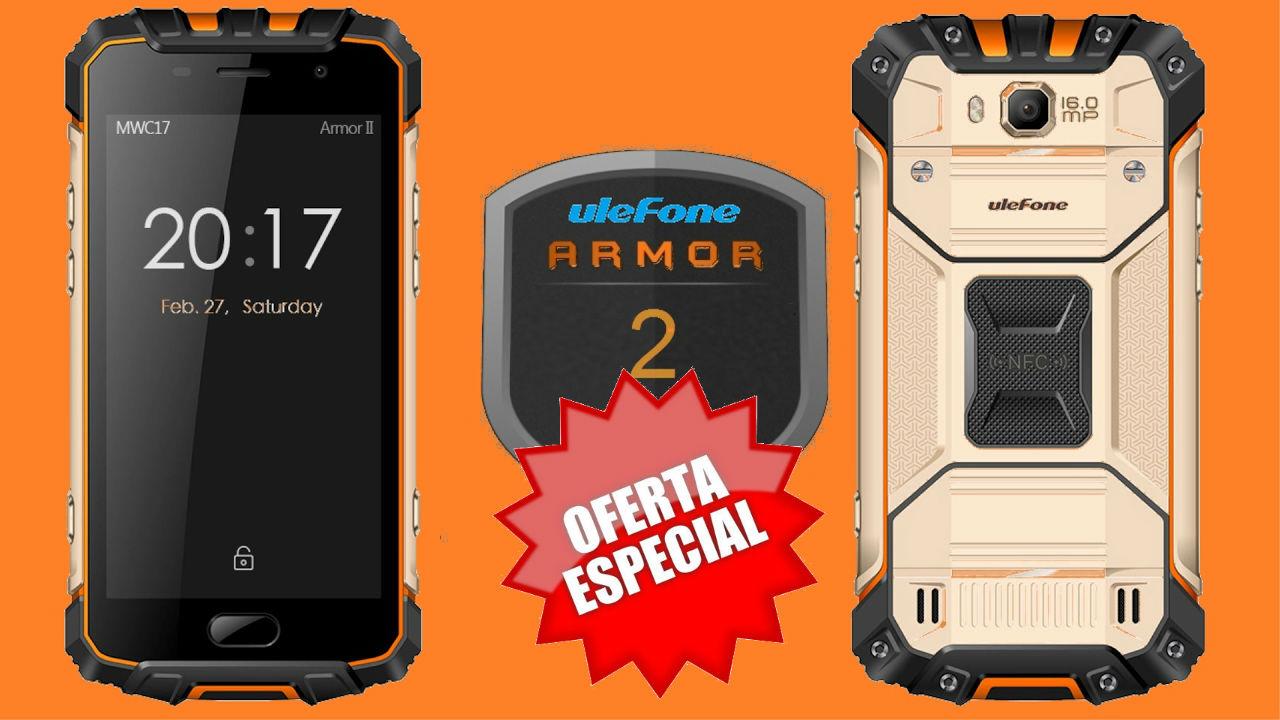 Aprovecha para llevarte un Ulefone Armor 2