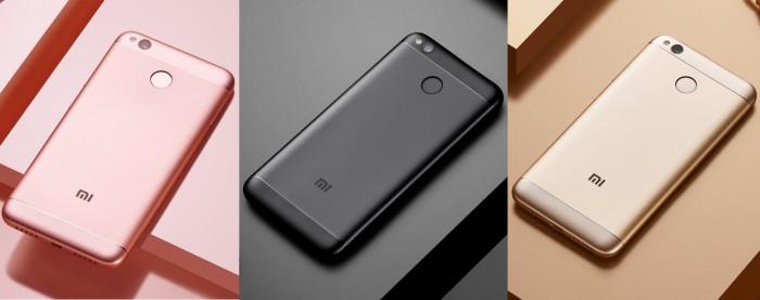 Xiaomi-redmi-4x colores