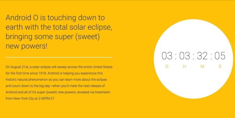 android o evento de presentacion oficial 21 de agosto