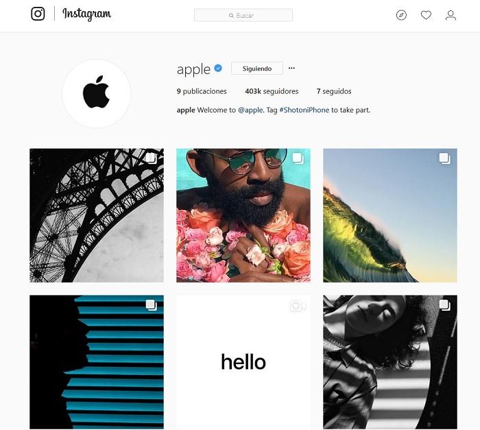 apple instagram