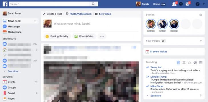 facebook stories web
