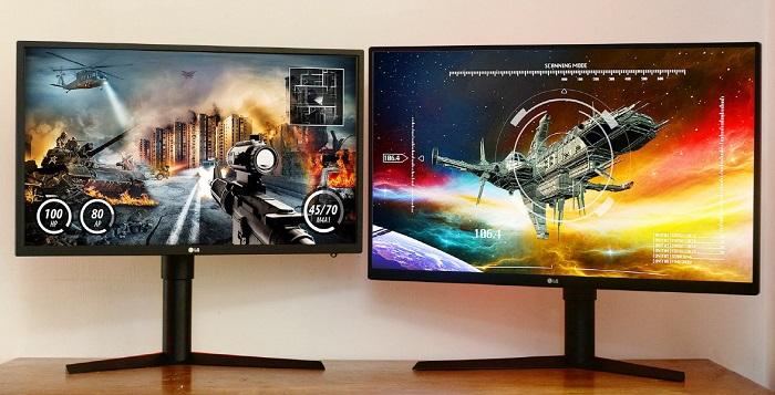lg monitores gk -27GK750 y 32GK850