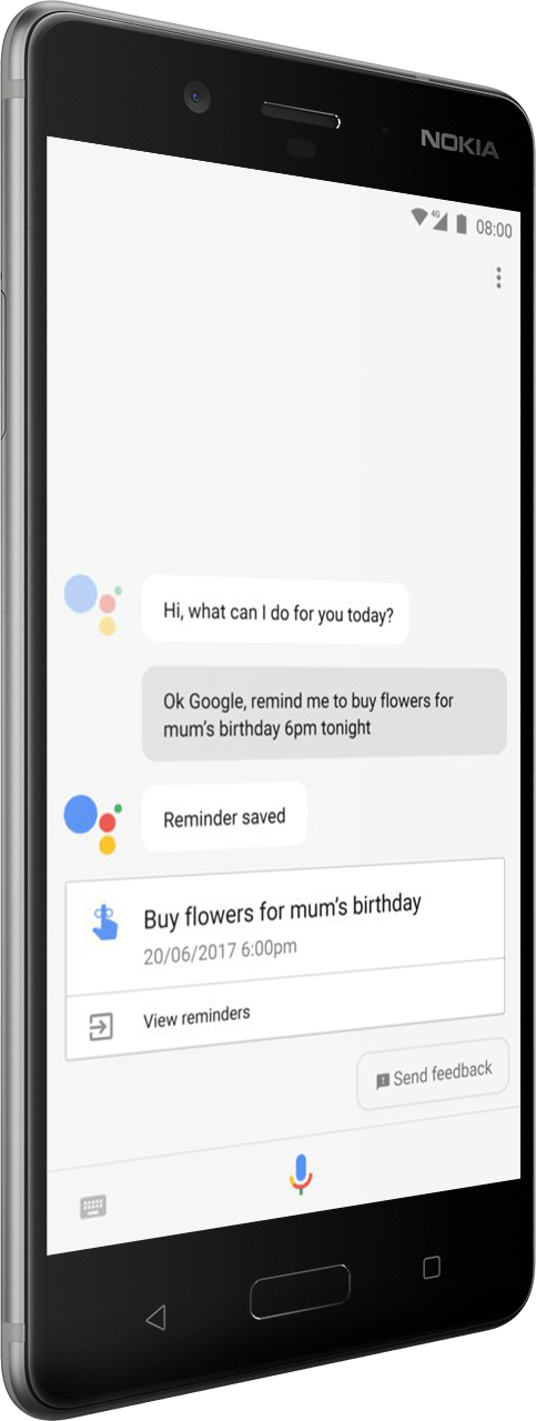 nokia 8 google assistant