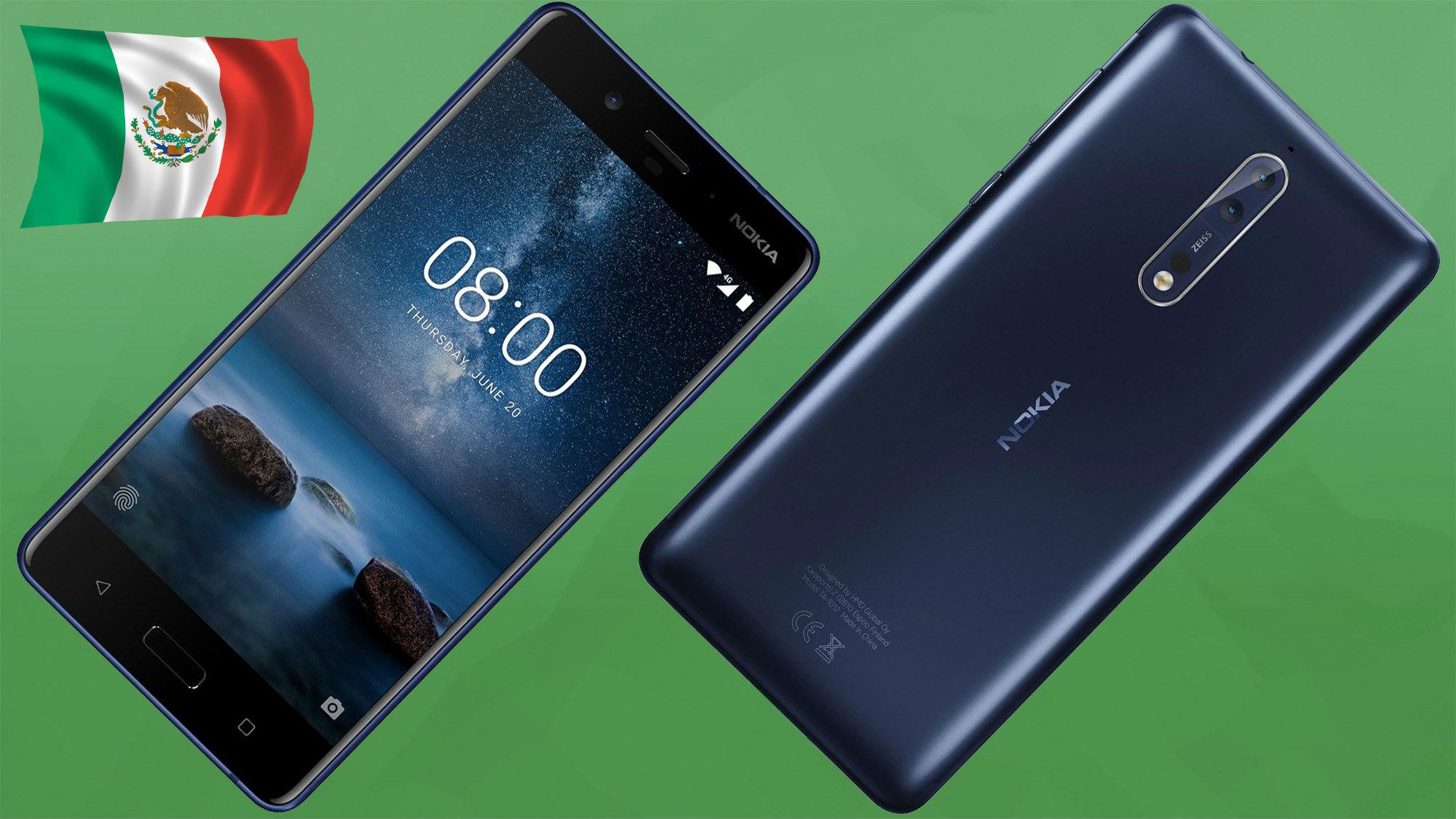 Nokia 8 será el gama alta más económico en México