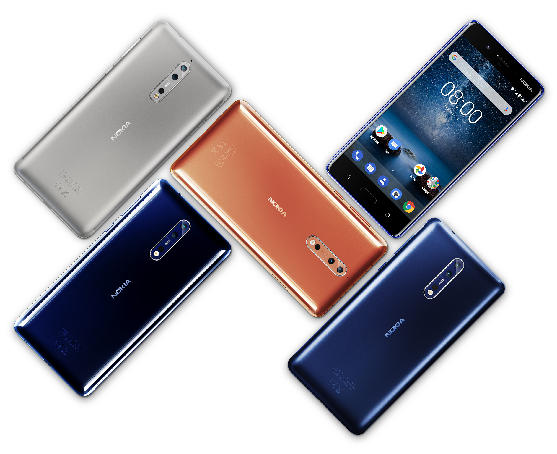 Nokia 9 estaría basado en el Nokia 8