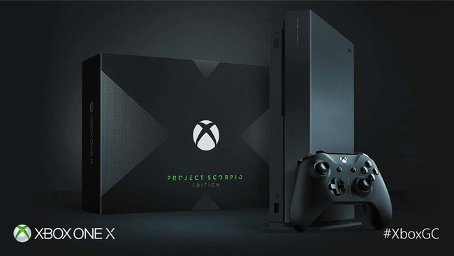 xbox one edition project scorpion