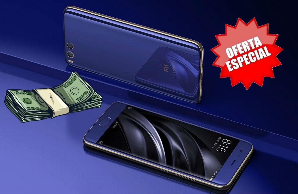 Aprovecha para llevarte hasta un Xiaomi Mi 6 al mejor precio