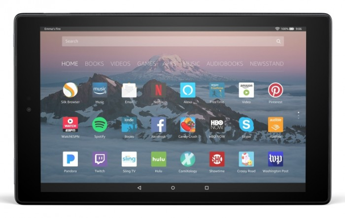 Amazon sigue apostando por las tablets Fire: Amazon Fire HD 10