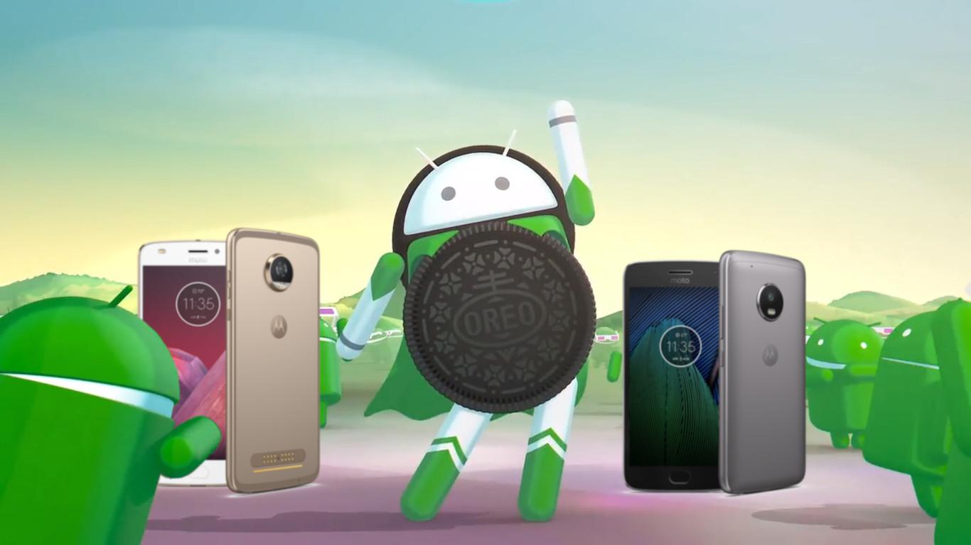 Motorola anunció los móviles que recibirán Oreo