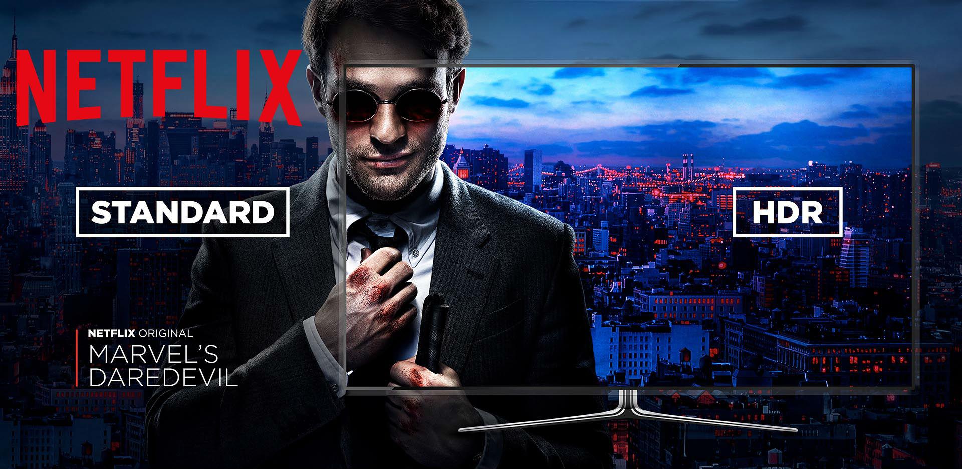 Netflix suma más equipos compatibles con el HDR