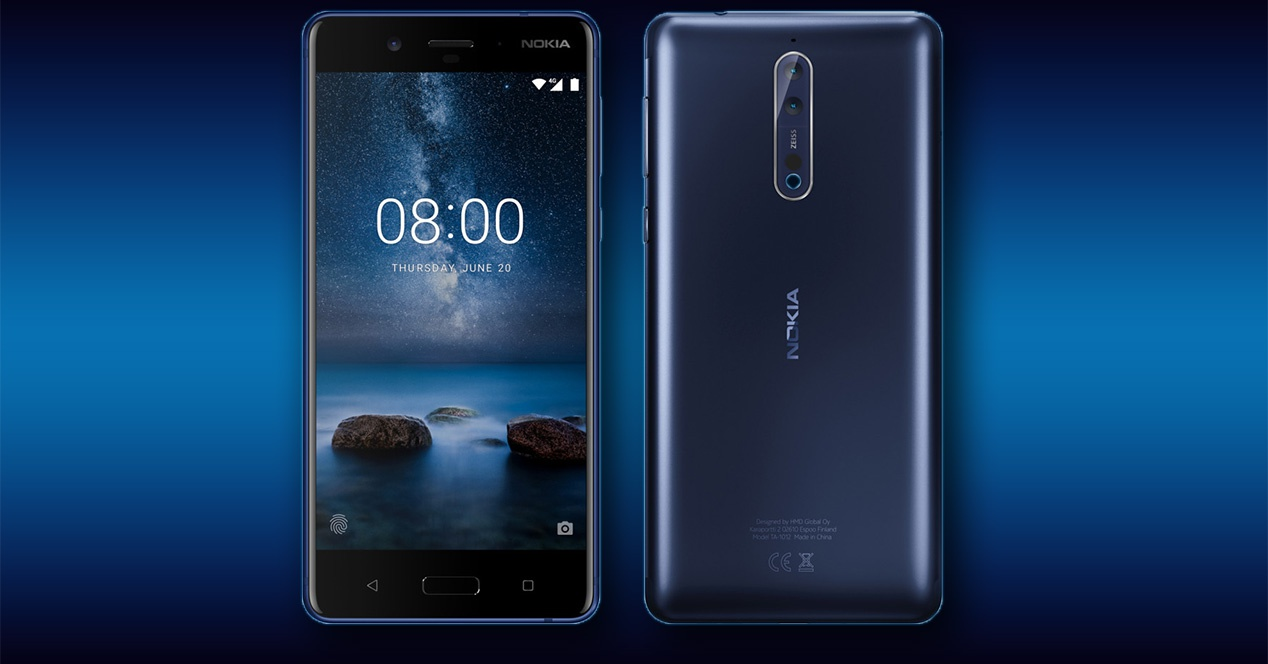 Nokia 8 tendrá una nueva versión que llegará próximamente