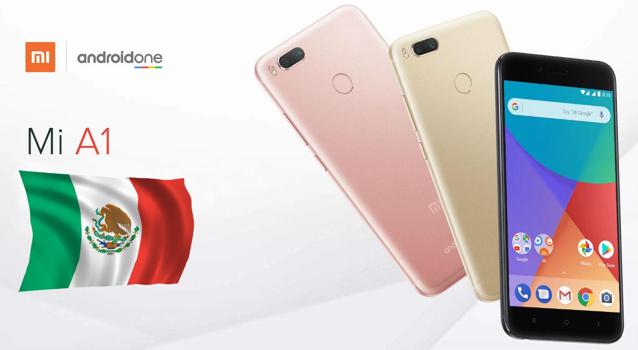 Xiaomi Mi A1 llegaría a México en octubre o noviembre