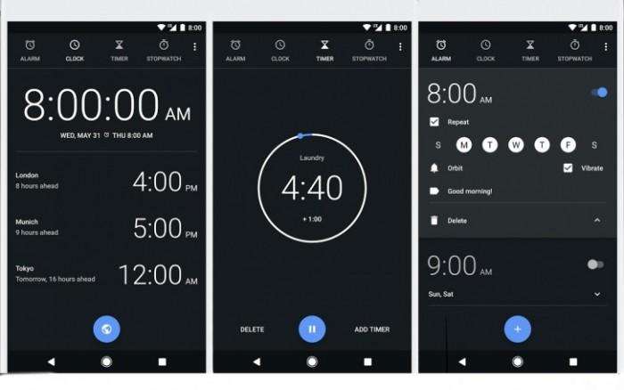 android oreo problemas reloj
