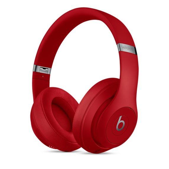 apple beats studio3 wireless rojo
