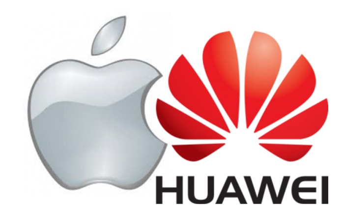 apple detras huawei